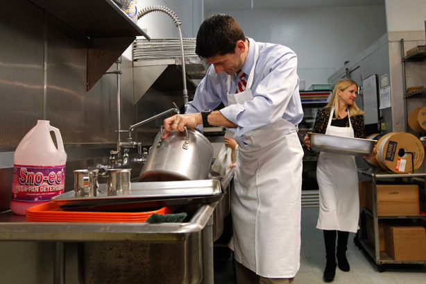 Vice Presidential Nominee Paul Ryan Recently Got Himself In Hot Water For  U201cvolunteeringu201d At St.Vincent De Paul Society. Ryan May Not Have Understood  The ...