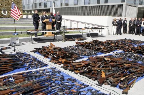 Gun buy backs can get a lot of guns off the street. ©Antonio Villaraigosa on flickr