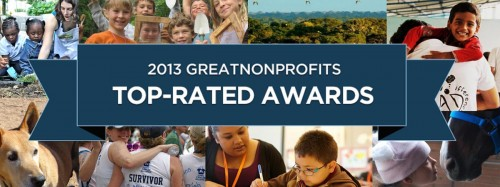 GreatNonprofits Top-Rated Awards
