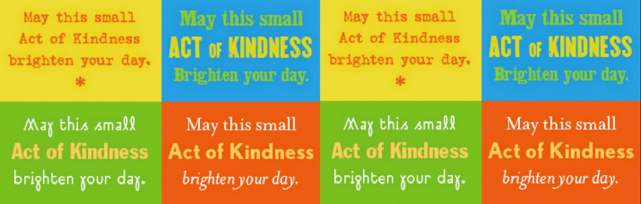 image regarding Kindness Cards Printable titled Percentage Quicks Functions of Kindness - GreatNonprofits Website