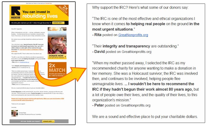 IRC newsletter