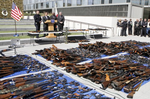 Gun buy backs can get a lot of guns off the street. ©Antonio Villaraigosa on flickr