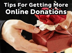 Get More Online Donations