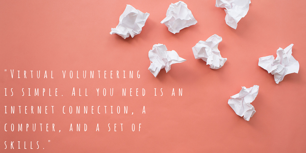 The Perks of Being a Volunteer: My experience as a virtual volunteer with GreatNonprofits