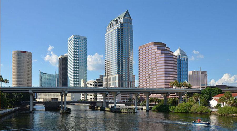 Tampa Skyline by Clement Bardot via Wikimedia Commons