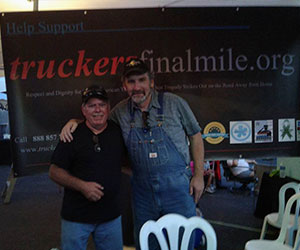 Volunteers at their organization event - Trucker's Final Mile