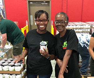 Volunteers at a Food drive - St. Mary's Food Bank Alliance