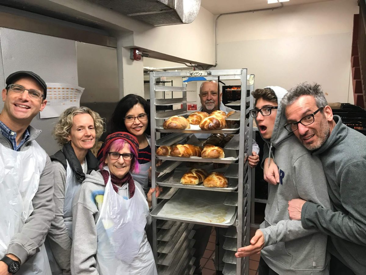 Nonprofit Spotlight: Baking Challah with GLIDE's Volunteers