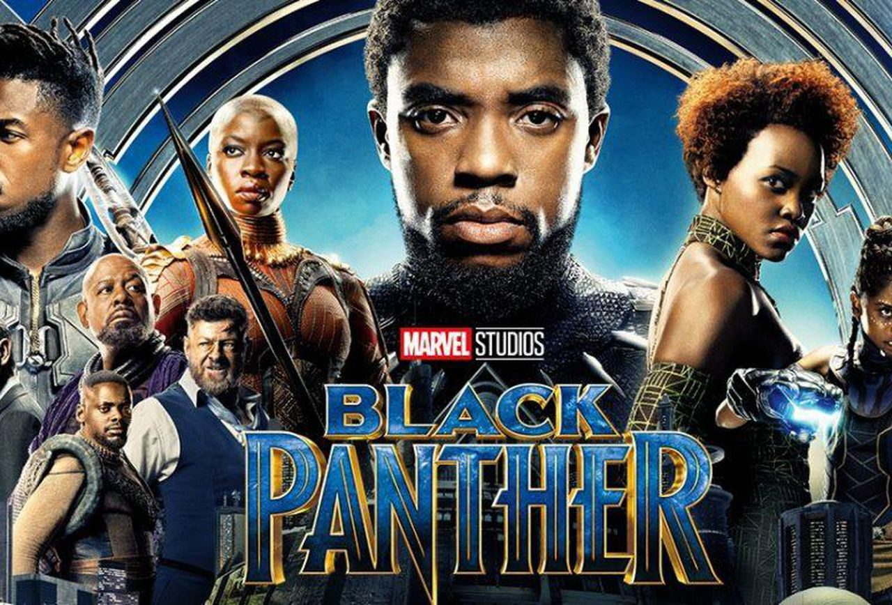 Black Panther movie promo picture