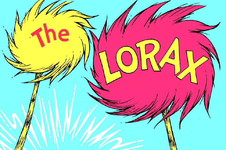 The Lorax Children's Book cover