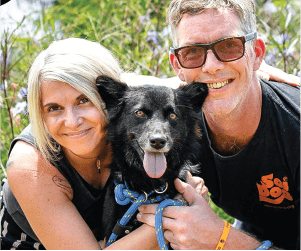 a rescued dog adopted - Soi Dog Foundation