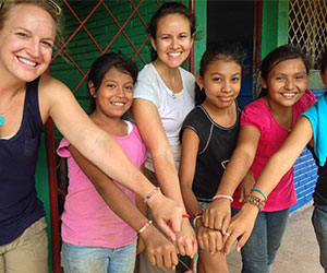 volunteers abroad to support a Giving Tuesday campaign---Foundation for Sustainable Development