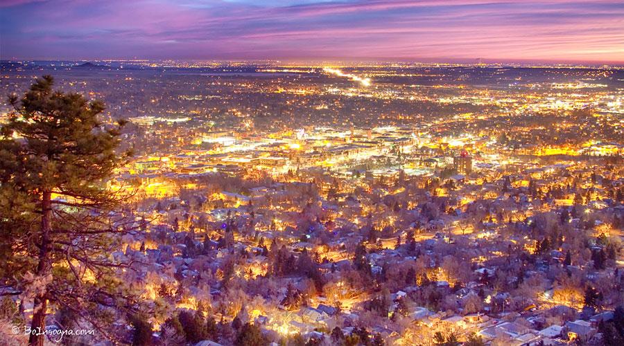 Boulder CO Skyline Bo Insogna Flickr