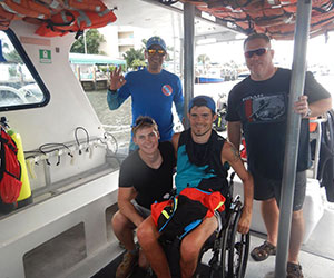 Scuba program Aquanauts Adaptive Aquatics, Inc