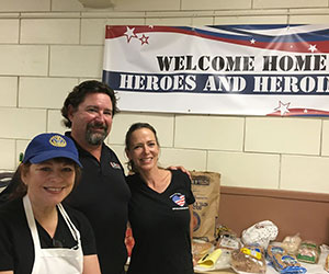 Vets lunch program volunteers Operation Love Our Vets