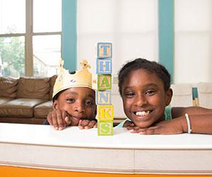 happy kids of PH Crisis Nursery Providence House,-Inc.